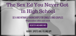 SEX AND INTIMACY WORKSHOP