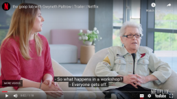 Betty Dodson on Goop Lab on Netflix