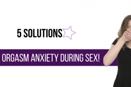 anxiety and sex