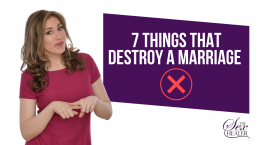 Things That Destroy A Marriage
