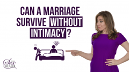 Can a marriage survive without intimacy
