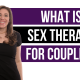 what is sex therapy for couples