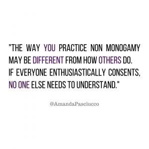 non monogamous meaning